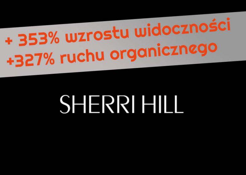 seo case study sklep z sukienkami sherrihill2