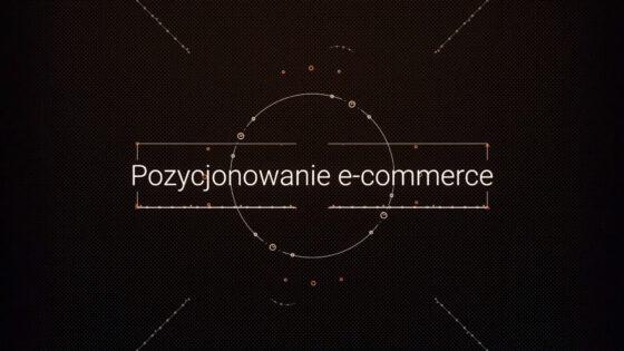 pozycjonowanie ecommerce